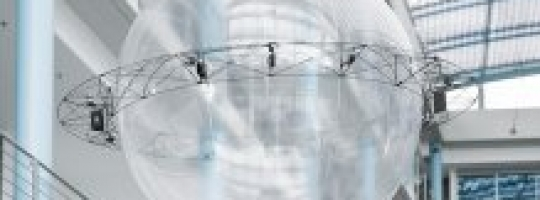 FreeMotionHandling - захват и доставка груза посредством гелиевого шара